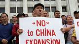Dozens protest against Chinese influence in Kazakhstan