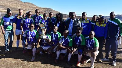 Host union, Lesotho emerged winners of the Rugby Africa Regional Sevens tournament