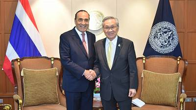 Speaker of the House of Representatives of the Kingdom of Morocco met with the Minister of Foreign Affairs of the Kingdom of Thailand