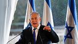 Netanyahu pays homage in Hebron, in nod to rightist voters
