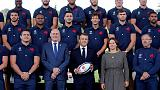Macron looks to boost France confidence ahead of World Cup