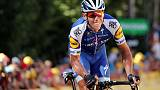 Cycling - Gilbert earns 10th Grand Tour stage win at Vuelta, Roglic still overall leader