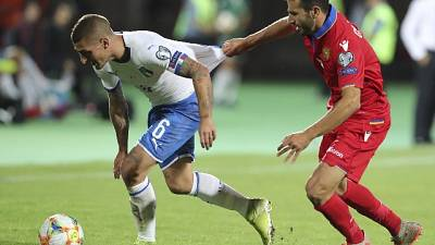 Euro 2020: l'Italia vince in Armenia
