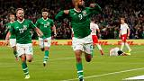 Ireland grab late draw with Switzerland as Danes close the gap