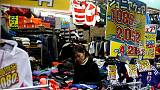 Japan's July household spending up for eighth straight month, but at slower pace