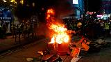 Hong Kong police break up protests as summer of discontent shows no sign of let-up