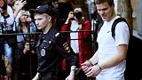 Court frees famous Russian soccer players jailed for attacks - news agencies