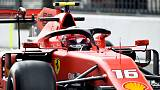Motor racing: Leclerc fastest in practice for Ferrari's home race