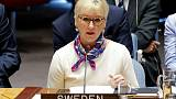 Swedish Foreign Minister Margot Wallstrom to resign