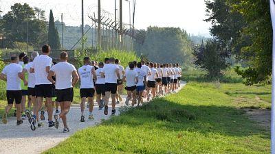 A Firenze allenamento Esercito cittadini