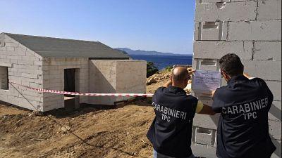 Villa abusiva sequestrata a Tavolara