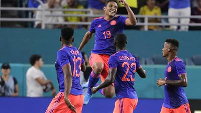 Brasile-Colombia 2-2, show di Muriel