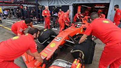 F1, Vettel primo in terze prove libere