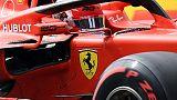 Ferrari Leclerc in pole,secondo Hamilton