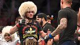 Nurmagomedov makes Poirier tap to unify UFC lightweight title
