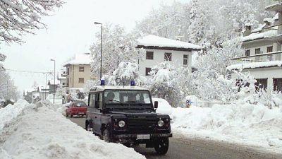 Neve allo Stelvio, strade chiuse