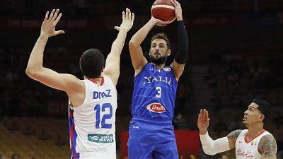 Mondiali basket, Italia-Portorico 94-89
