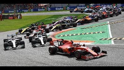 F1:Monza,Ferrari Leclerc scatta in testa
