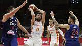 Spain brush aside Serbia, Argentina thump Poland