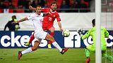 Swiss hit four against Gibraltar, Georgia frustrate Denmark
