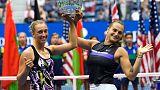 Mertens and Sabalenka win first Grand Slam title at U.S. Open