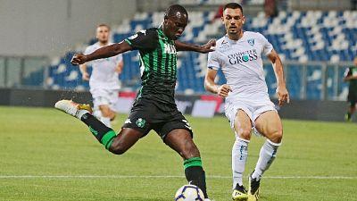Lecce:Babacar,i miei gol per la salvezza