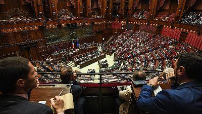 """Coro Lega-FdI in Aula Camera: """"Bibbiano"""""""