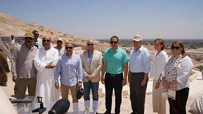 U.S. supports conservation of Upper Egypt Historical Monuments