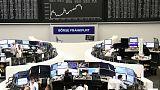 European shares open lower, FTSE leads losses