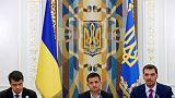 Ukraine ruling party gets impeachment law through parliament