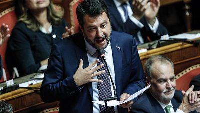 Salvini a Lamorgese,ricatto dl sicurezza