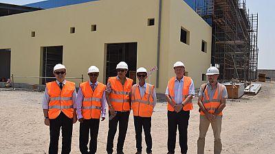Visite de l'Ambassadeur de France sur le site de l'usine de dessalement de Doraleh