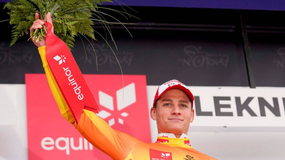 Cycling Van Der Poel Takes Lead In Tour Of Britain After