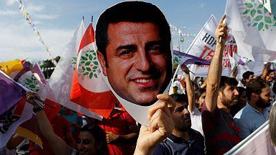 Lawyers seek Kurdish politician Demirtas' release from Turkish prison - source