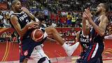 Basketball - France knock holders U.S. out of World Cup medal rounds