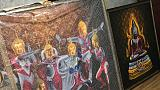 'Ultraman Buddha' art in Thailand prompts police complaint