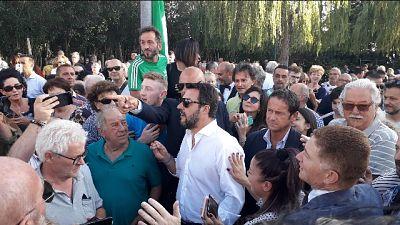 Salvini, da Conte solo chiacchiere