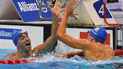 Nuoto paralimpico: doppio oro Italia