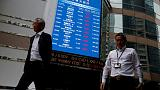 Political risks of Hong Kong exchange's £32 billion LSE approach takes toll on shares