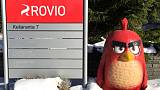 Ageing Angry Birds hit Rovio 2019 outlook, shares plummet