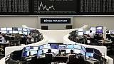 European shares touch new six-week highs on easing trade worries