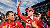 F1: Rossi elogia Leclerc, un pilota vero