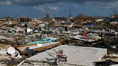 After Dorian, disease is next threat on shattered Bahamian island