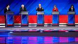 U.S. Democrats back on campaign trail after third presidential debate