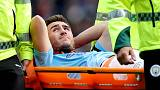 Injured Man City defender Laporte out for up to six months
