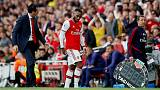 Arsenal's Lacazette ruled out until October with injury