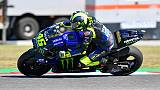 MotoGp: Rossi, prima giornata positiva