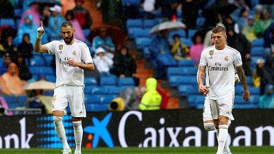 Real rischia col Levante,3-2 al Bernabeu