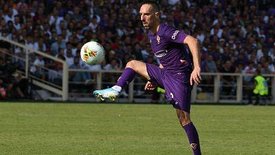 "Fiorentina, Ribery ""contento mia gara"""