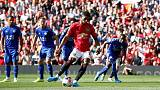 United go fourth as Rashford penalty beats Leicester